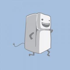 Și frigiderul poate fi în trend