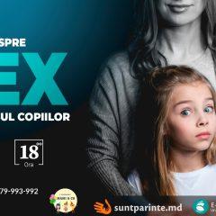 Cum să vorbim despre sex copiilor?